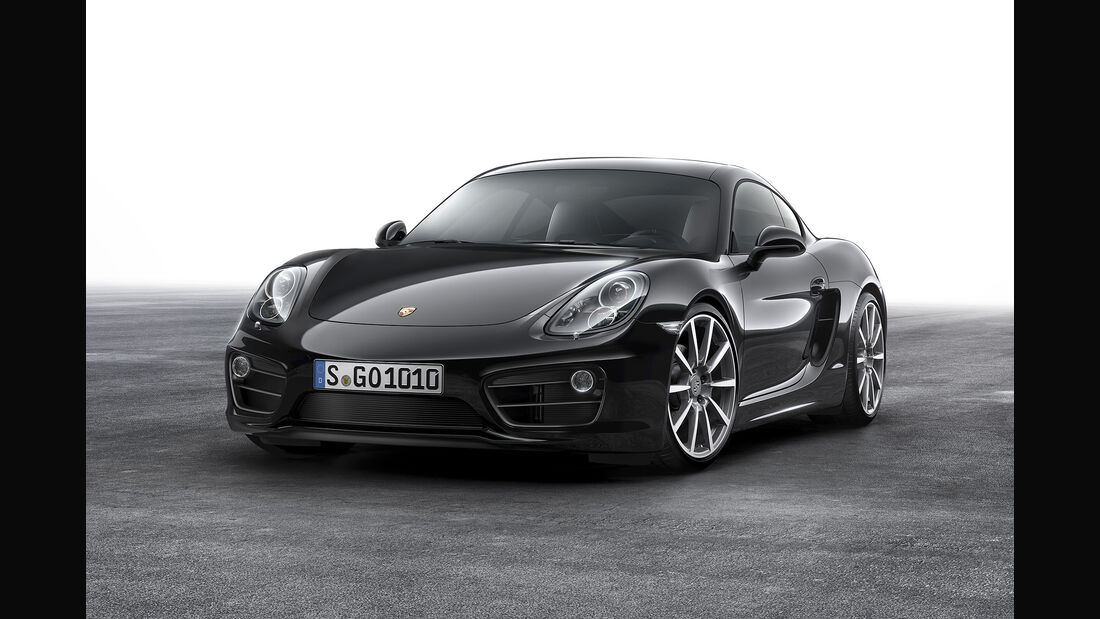 Porsche Cayman 981, Black Edition