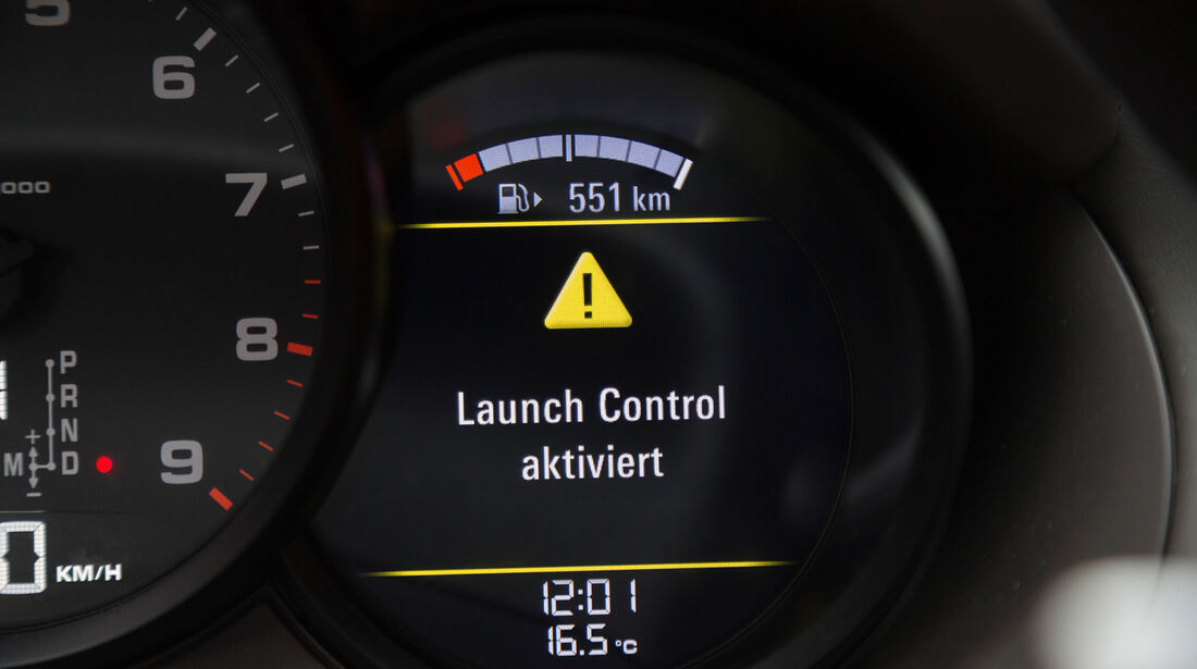 Porsche Cayman, Anzeige, Monitor