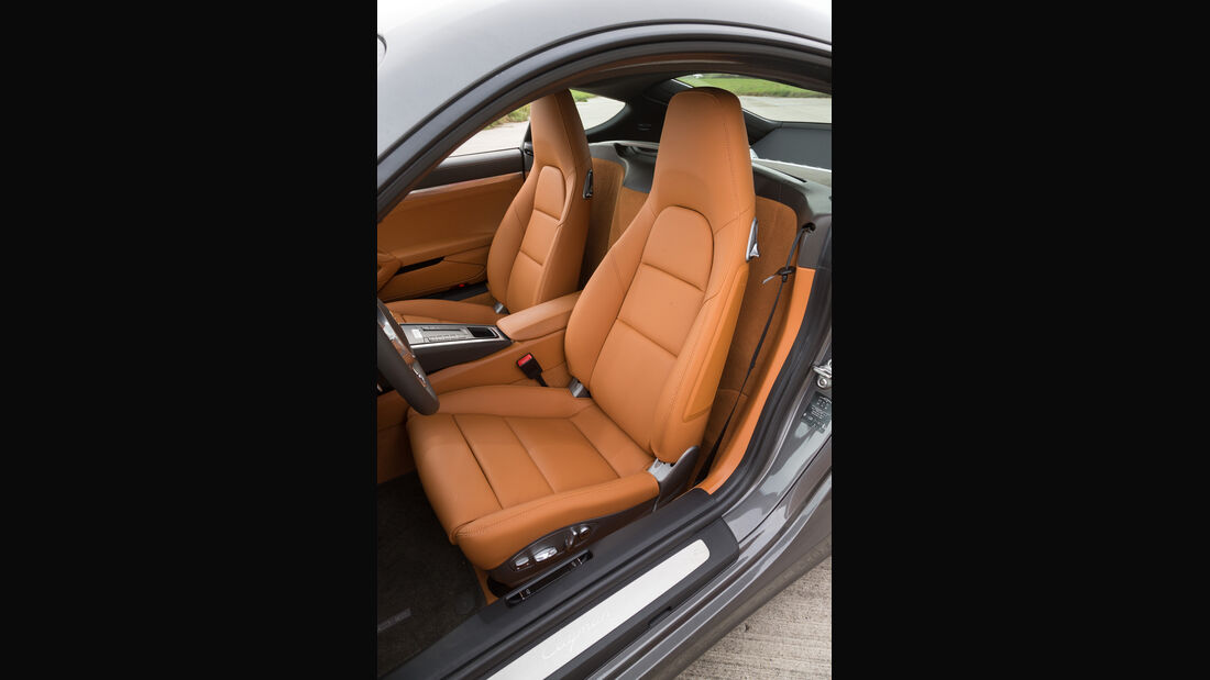 Porsche Cayman, Fahrersitz