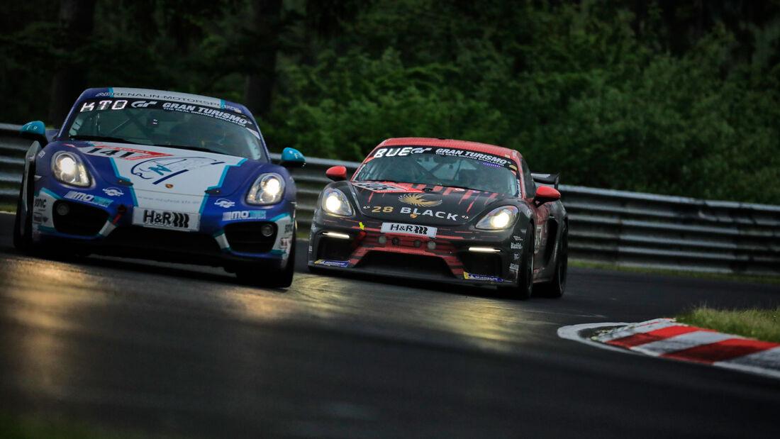 Porsche Cayman GT4 CS - G-Tech Competition - Startnummer #305 - 24h-Rennen Nürburgring - Nürburgring-Nordschleife - 5. Juni 2021