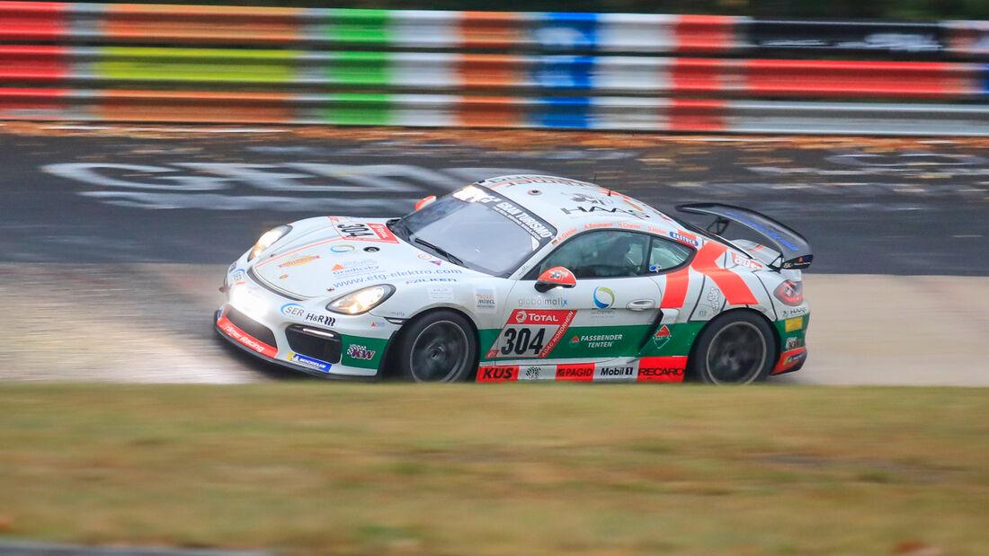 Porsche Cayman GT4 CS - KKrämer Racing - Startnummer #304 - Klasse: Cup 3 - 24h-Rennen - Nürburgring - Nordschleife - 24. bis 27. September 2020