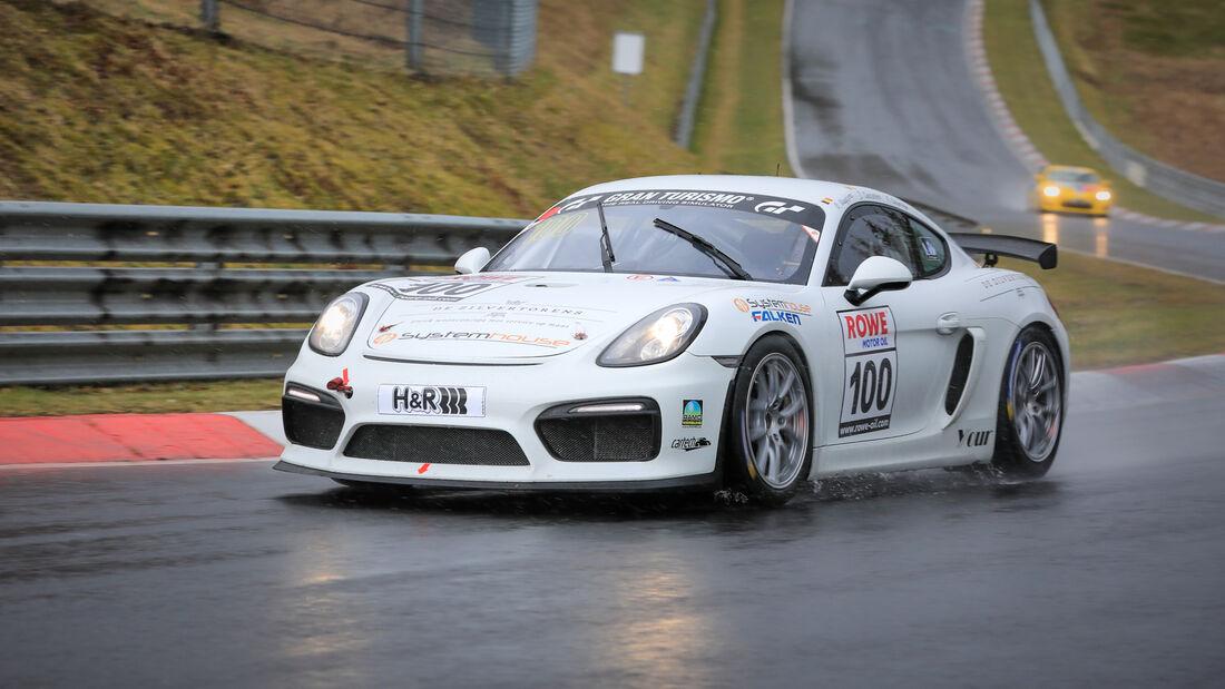 Porsche Cayman GT4 CS - Startnummer #100 - Pit Lane - AMC Sankt Vith - SP7 - NLS 2021 - Langstreckenmeisterschaft - Nürburgring - Nordschleife