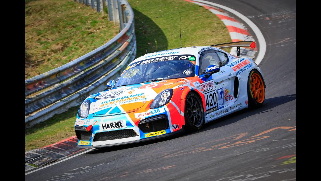 Porsche Cayman GT4 CS - Startnummer #420 - Care for Climate - AT(G) - VLN 2019 - Langstreckenmeisterschaft - Nürburgring - Nordschleife