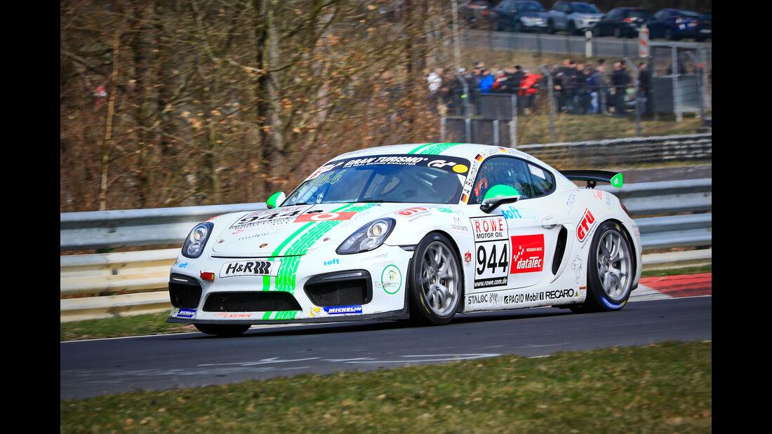 Porsche Cayman GT4 CS - Startnummer #944 - Krämer Racing - Cup 3 - VLN 2019 - Langstreckenmeisterschaft - Nürburgring - Nordschleife