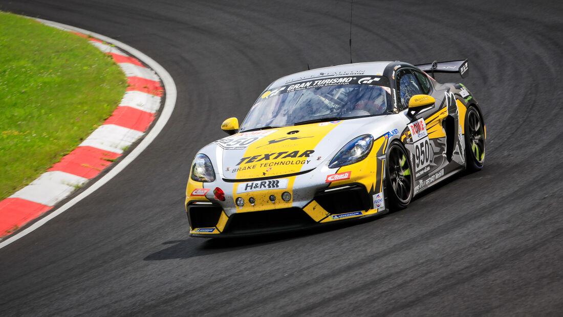 Porsche Cayman GT4 CS - Startnummer #950 - BLACK FALCON Team TEXTAR - Cup3 - NLS 2021 - Langstreckenmeisterschaft - Nürburgring - Nordschleife