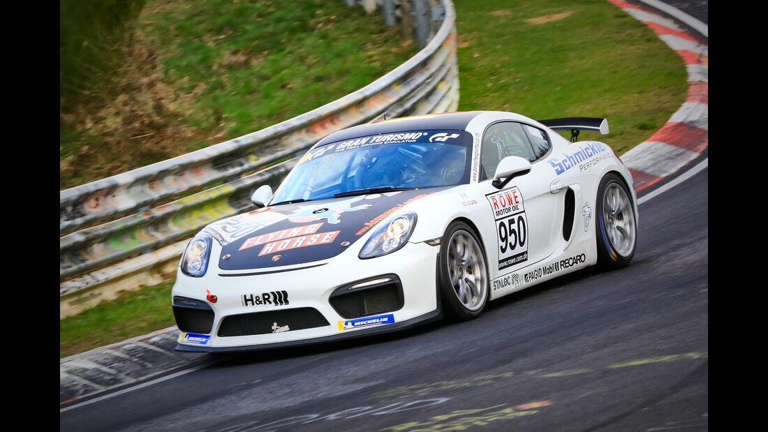 Porsche Cayman GT4 CS - Startnummer #950 - Schmickler Performance powered by Ravenol - Cup 3 - VLN 2019 - Langstreckenmeisterschaft - Nürburgring - Nordschleife