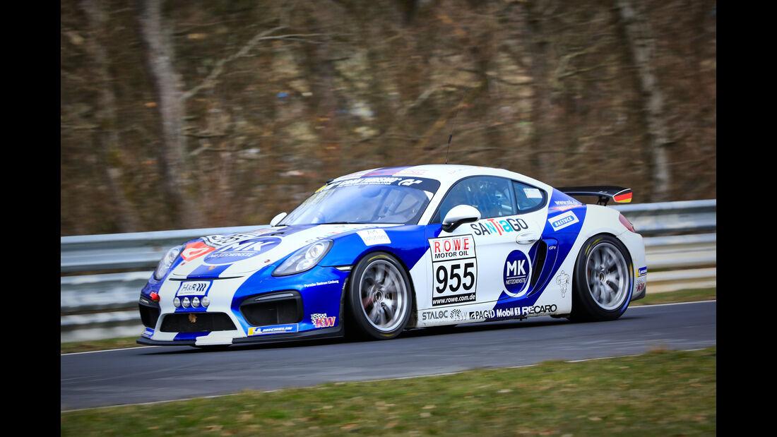 Porsche Cayman GT4 CS - Startnummer #955 - Fanclub Mathol Racing e.V. - Cup 3 - VLN 2019 - Langstreckenmeisterschaft - Nürburgring - Nordschleife