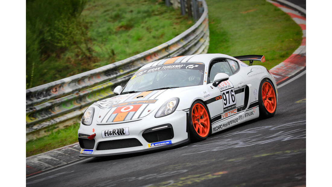Porsche Cayman GT4 CS - Startnummer #976 - MKR-Engineering - Cup 3 - VLN 2019 - Langstreckenmeisterschaft - Nürburgring - Nordschleife