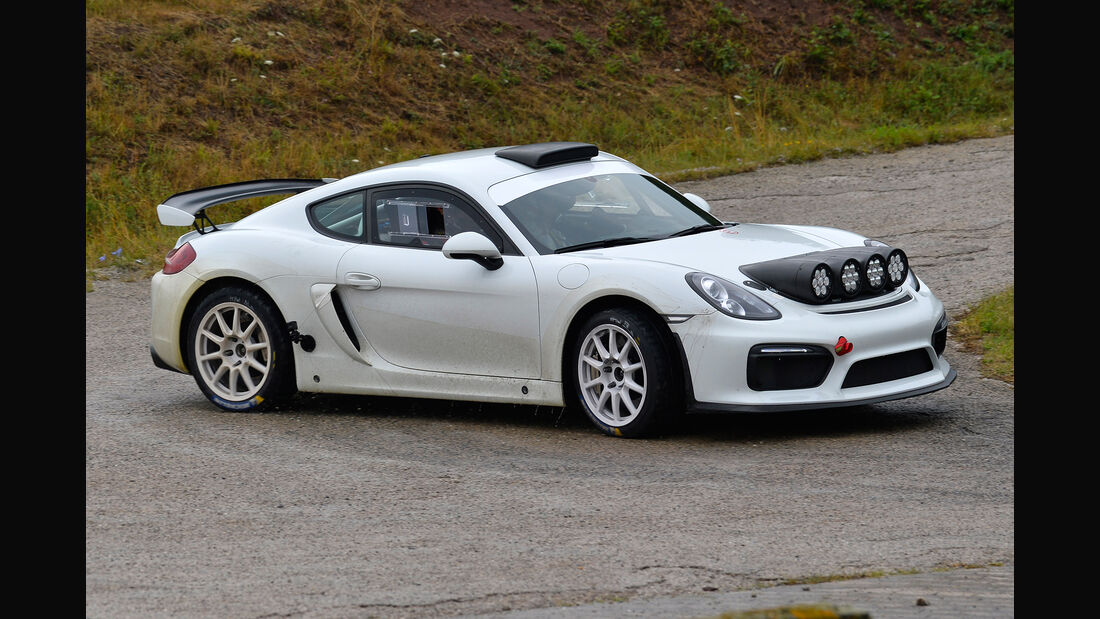 Porsche Cayman GT4 Clubsport Rallye Studie - 2018
