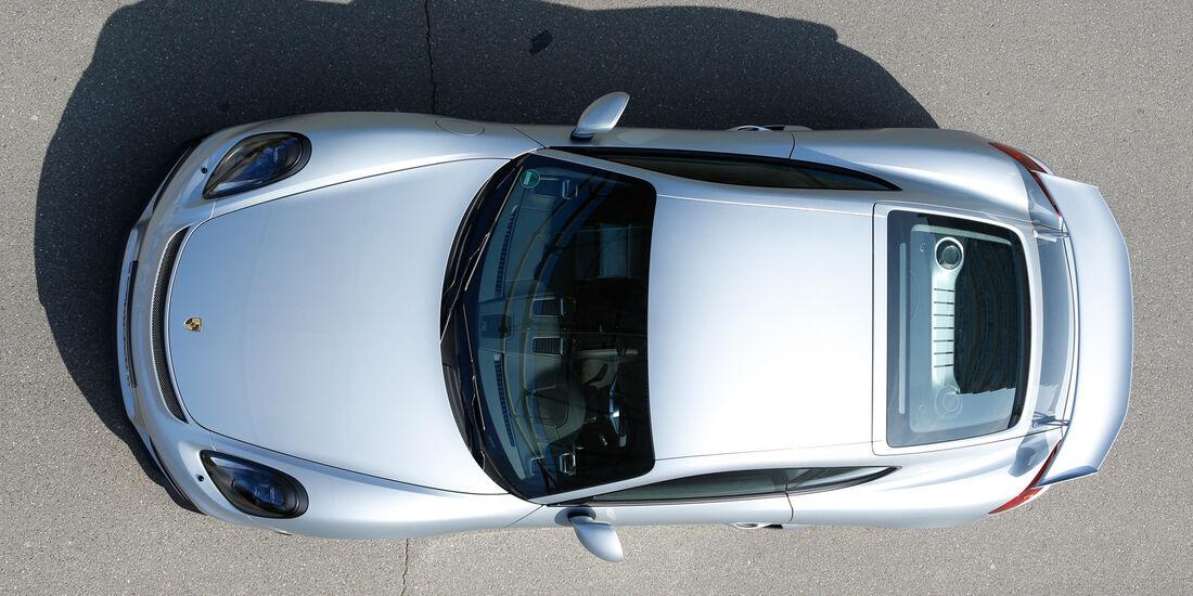 Porsche Cayman GT4, Draufsicht