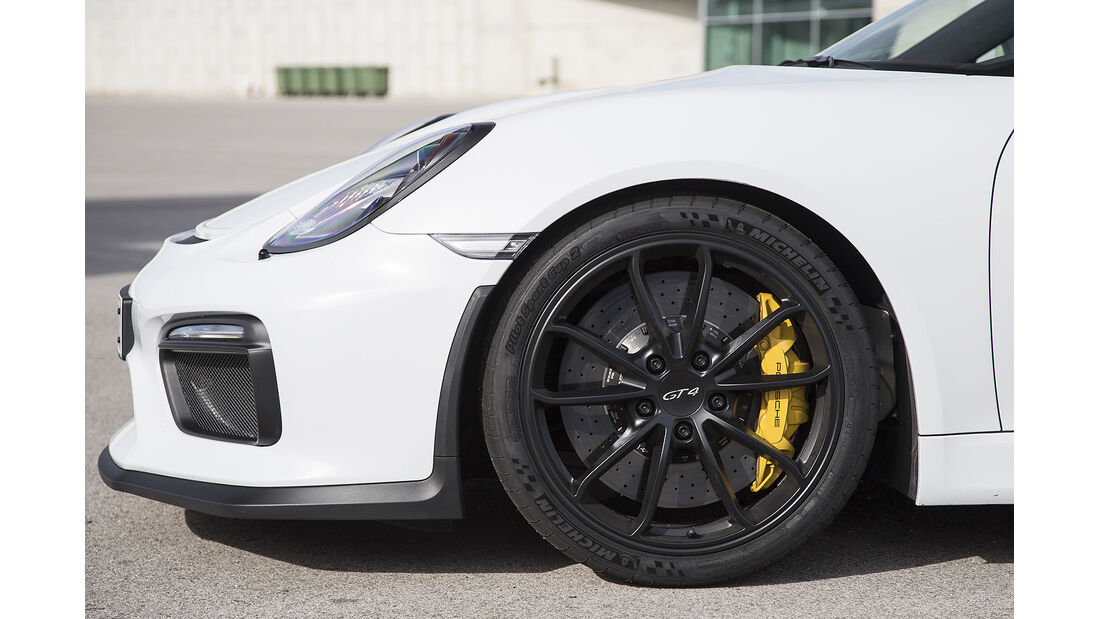 Porsche Cayman GT4 Fahrbericht