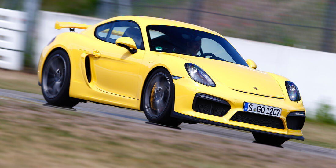 Porsche Cayman GT4, Frontansicht