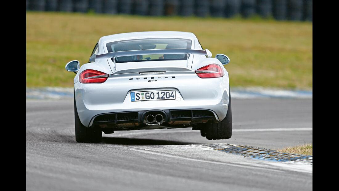 Porsche Cayman GT4, Heckansicht