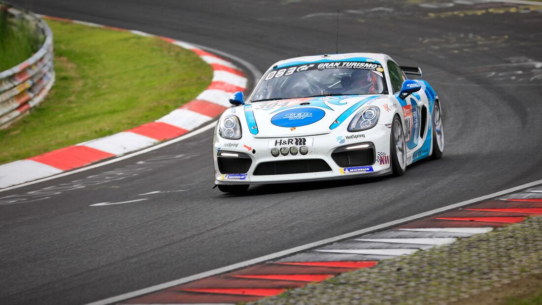Porsche Cayman GT4 - KKrämer Racing - Startnummer #304 - Klasse: Cup 3 - 24h-Rennen - Nürburgring - Nordschleife - 03. - 06. Juni 2021