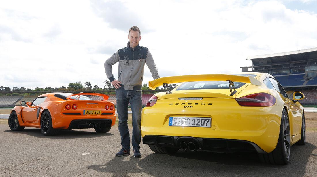 Porsche Cayman GT4, Lotus Exile S, Christian Gebhardt