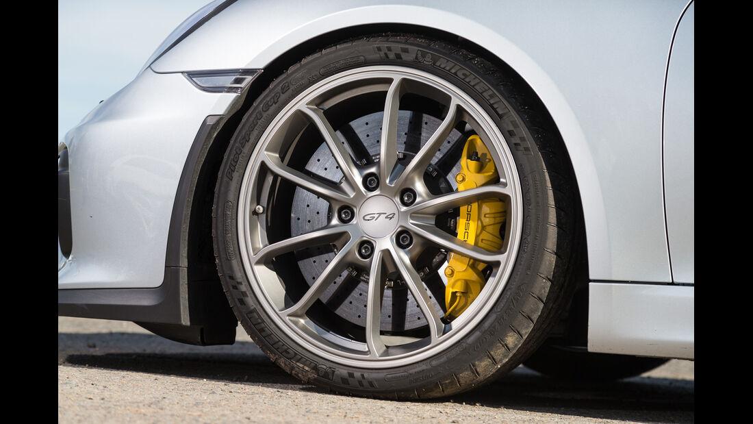 Porsche Cayman GT4, Rad, Felge, Bremse