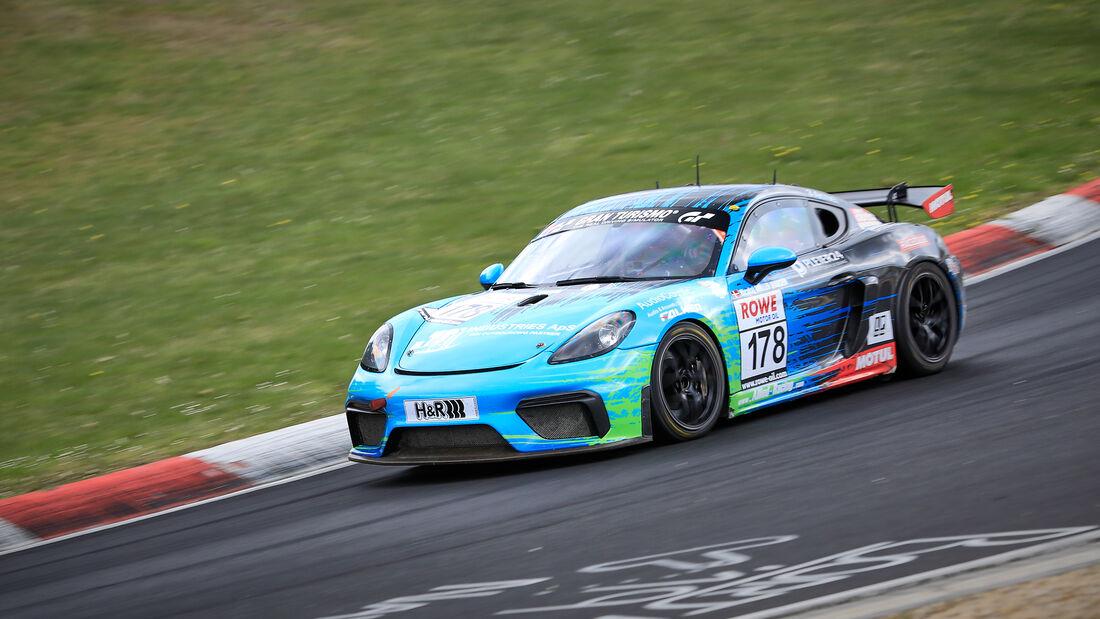 Porsche Cayman GT4 - Startnummer #178 - Allied-Racing GmbH - SP10 - NLS 2021 - Langstreckenmeisterschaft - Nürburgring - Nordschleife