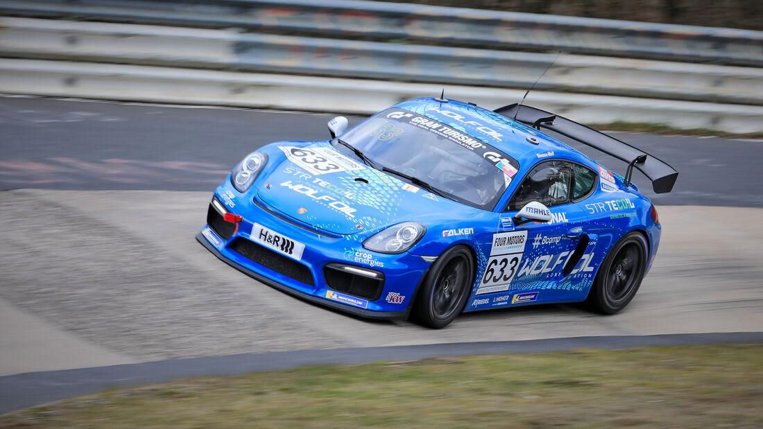 Porsche Cayman GT4 - Startnummer #633 - Four Motors GmbH - AT(-G) - NLS 2021 - Langstreckenmeisterschaft - Nürburgring - Nordschleife