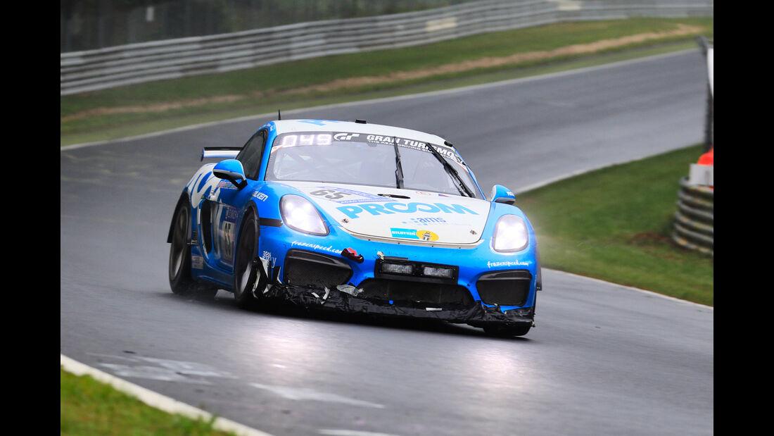 Porsche Cayman GT4 - Startnummer #65 - 24h-Rennen Nürburgring 2018 - Nordschleife - 13.5.2018
