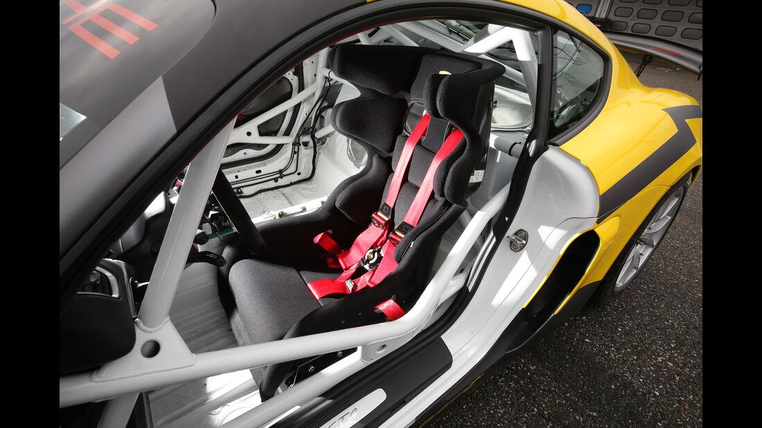 Porsche Cayman GT4 und GT4 Clubsport, Tracktest, Impression