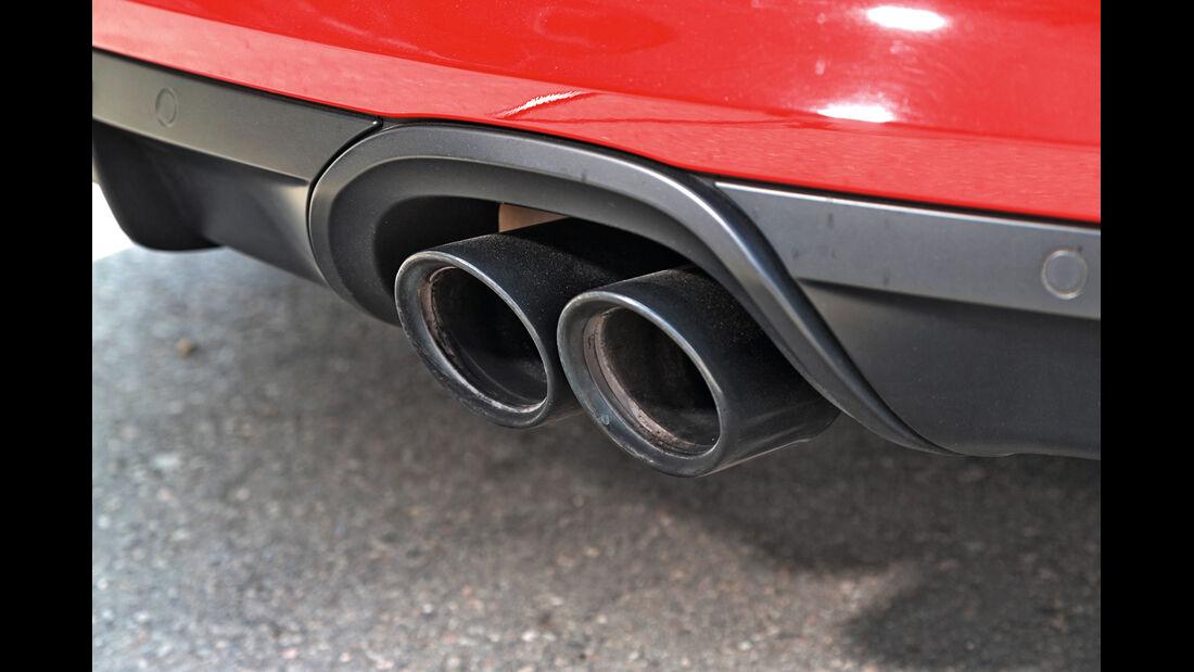 Porsche Cayman GTS, Auspuff, Endrohre