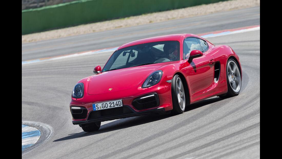 Porsche Cayman GTS, Frontansicht