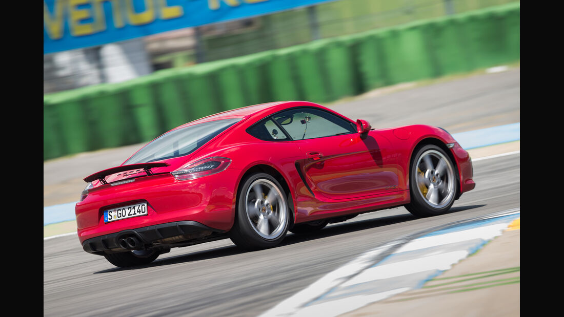 Porsche Cayman GTS, Heckansicht