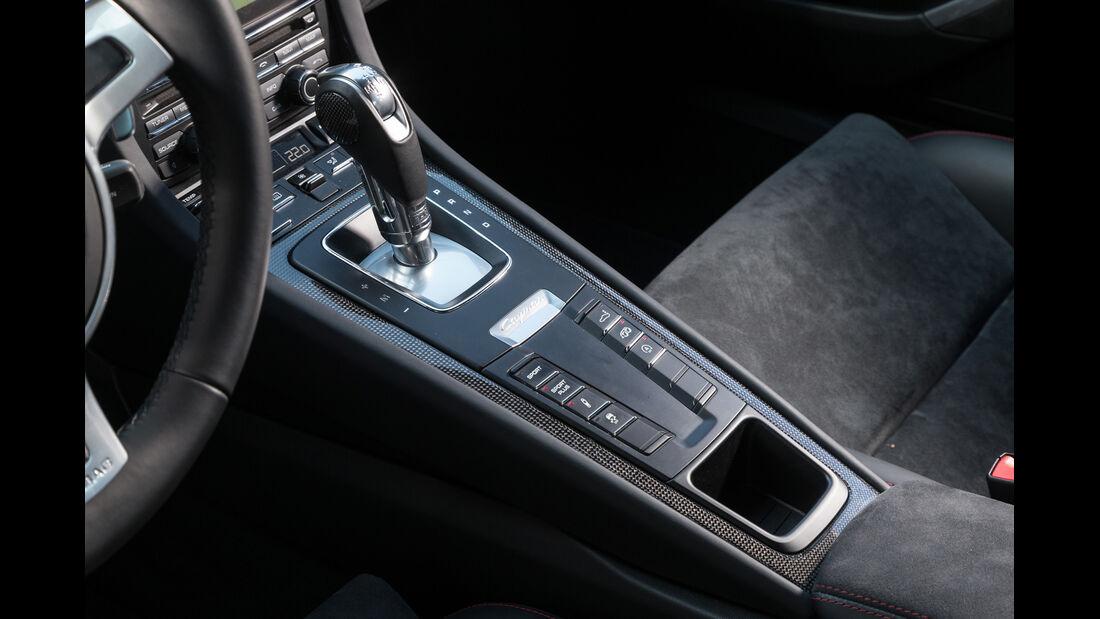 Porsche Cayman GTS, Schalthebel