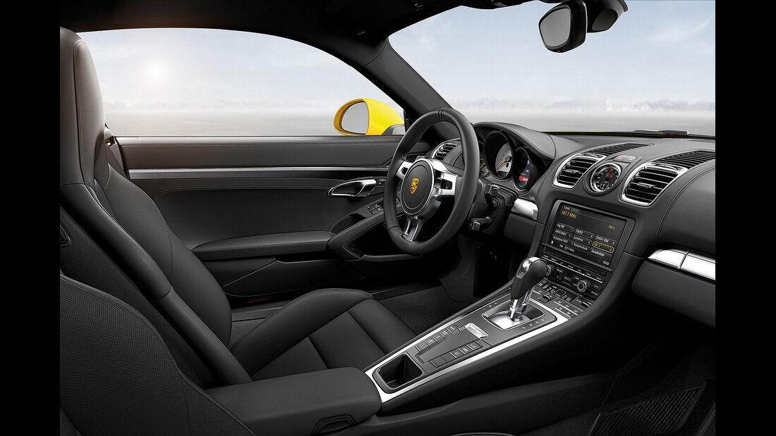 Porsche Cayman, Innenraum, Cockpit