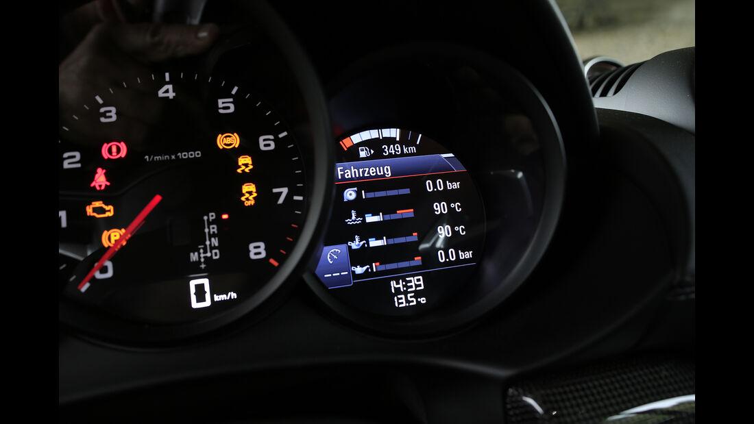 Porsche Cayman Interieur