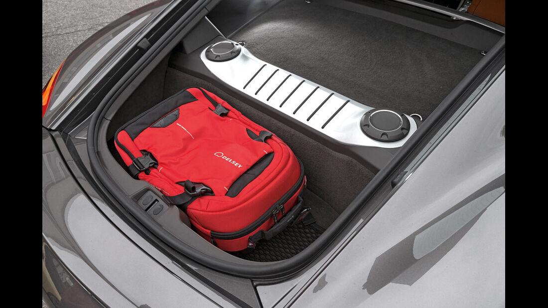 Porsche Cayman, Kofferraum