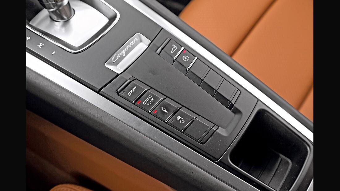 Porsche Cayman, Mittelkonsole
