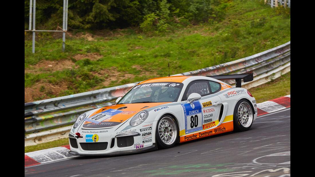 Porsche Cayman - Prosport-Performance GmbH - Startnummer: #80 - Bewerber/Fahrer: Michael Rebhahn, Dominik Schöning, Pato Da Silva - Klasse: SP10 GT4