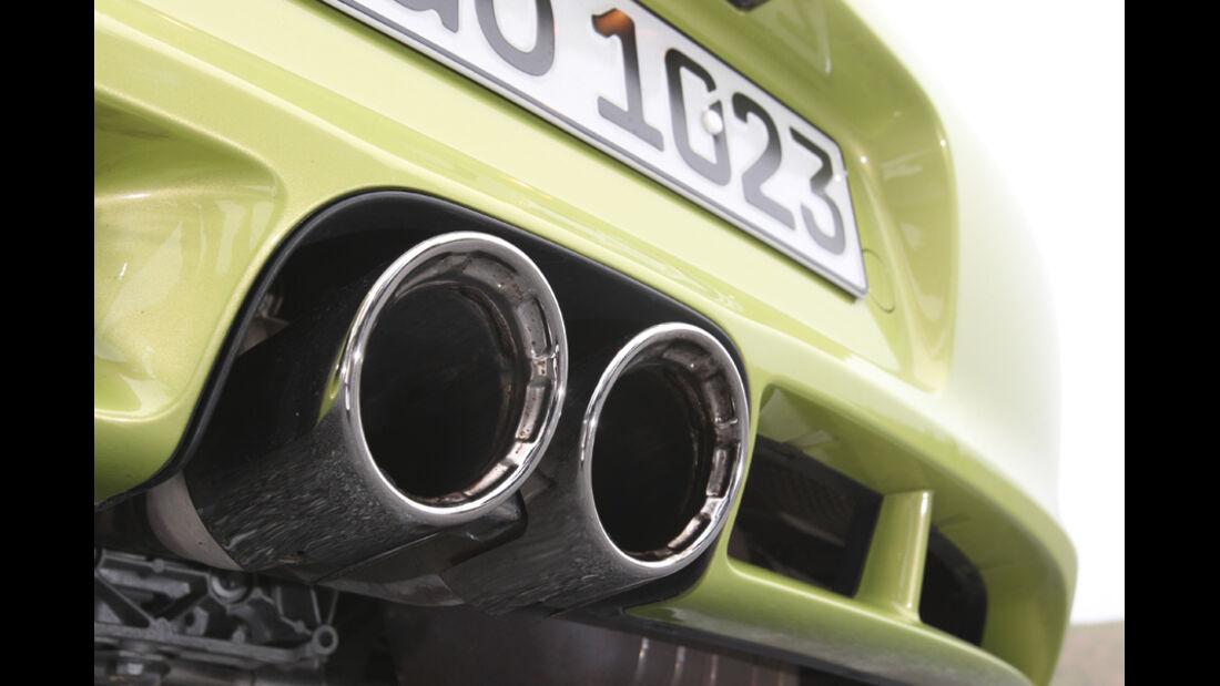 Porsche Cayman R, Detail, Auspuff