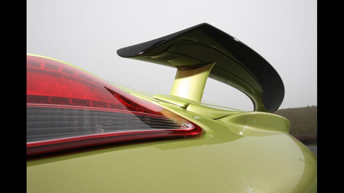 Porsche Cayman R, Detail, Spoiler