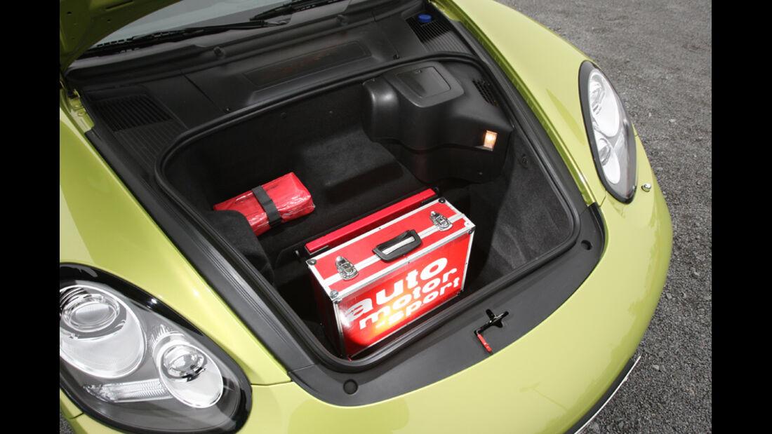 Porsche Cayman R, Kofferraum, Tasche