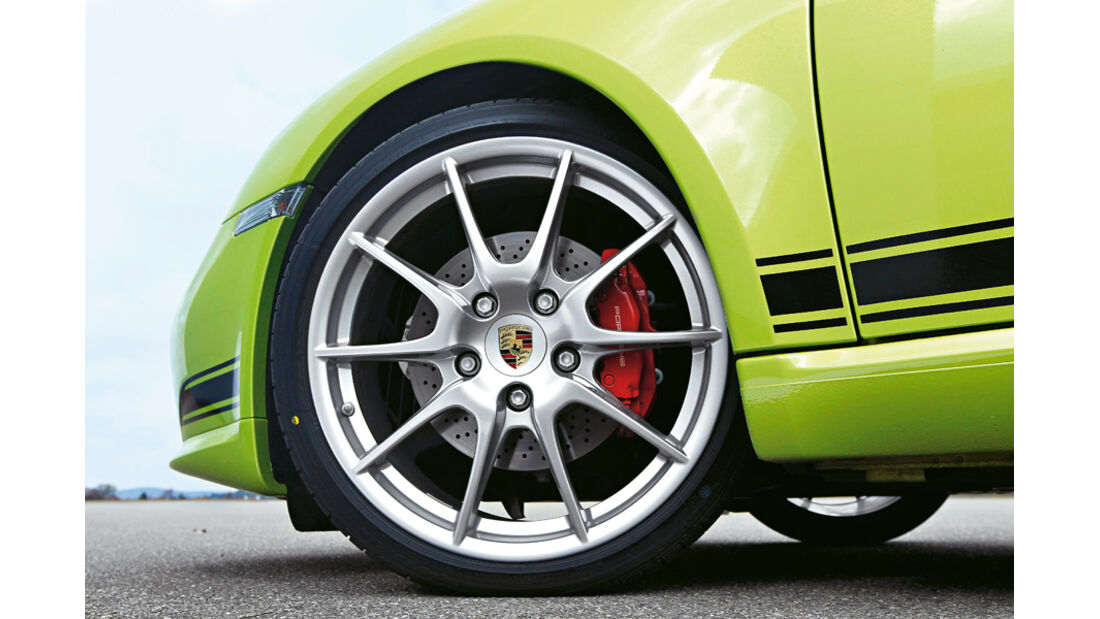 Porsche Cayman R, Vorderrad, Felge