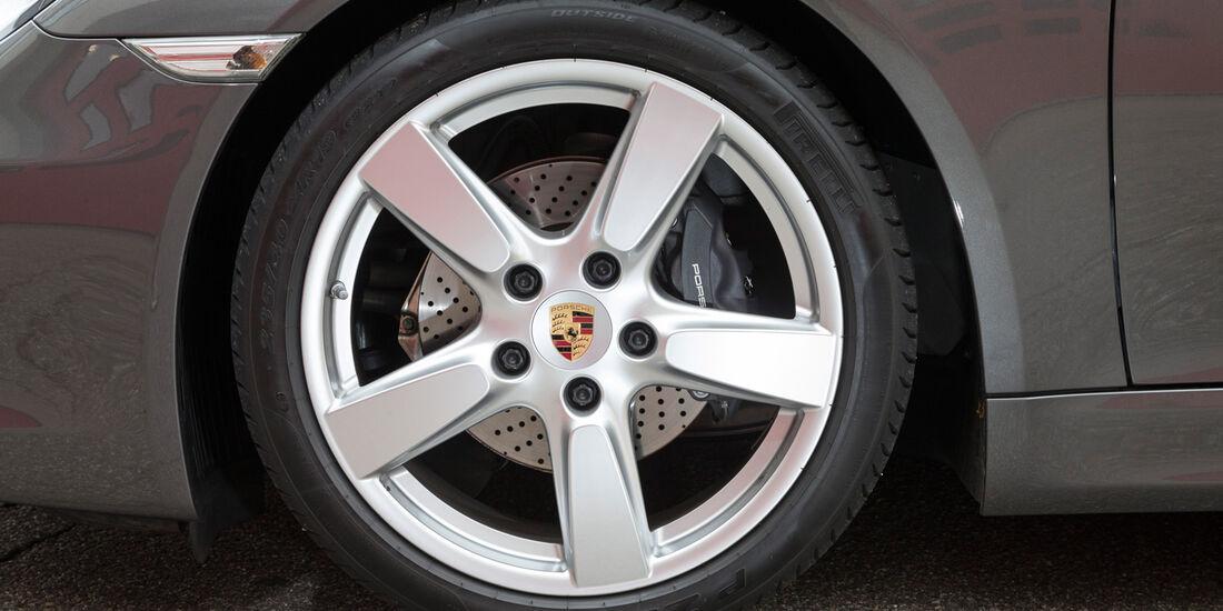 Porsche Cayman, Rad, Felge, Bremse