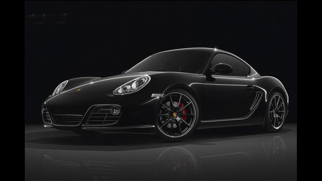 Porsche Cayman S Black Edition,