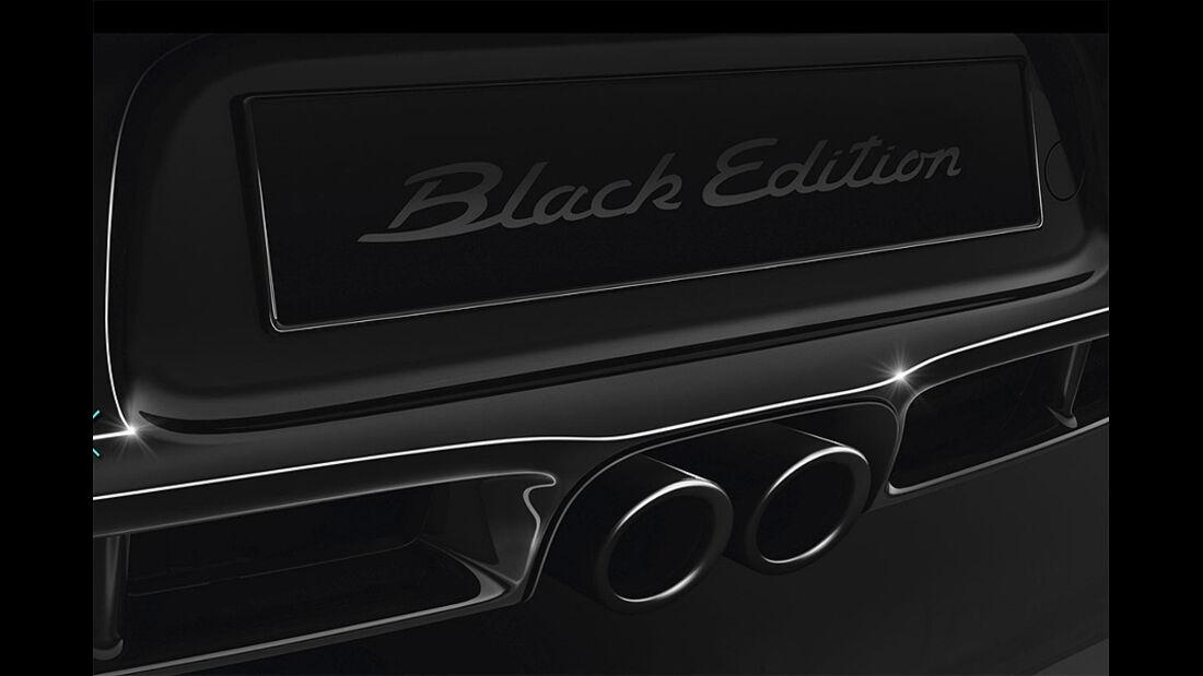 Porsche Cayman S Black Edition, Auspuff