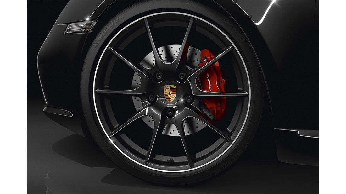 Porsche Cayman S Black Edition, Felge