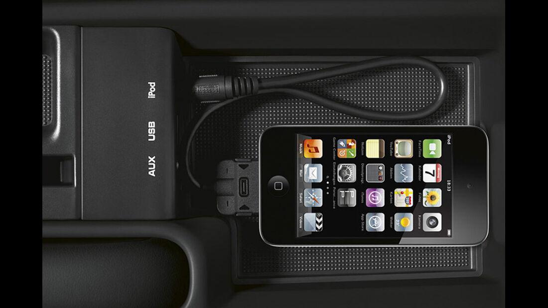 Porsche Cayman S Black Edition, Ipod