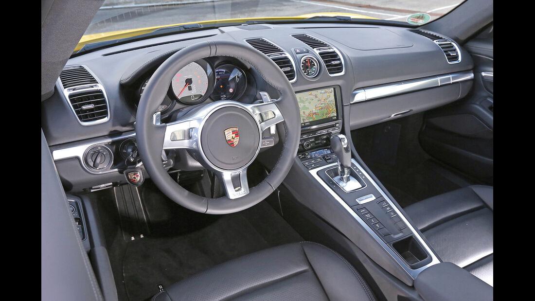 Porsche Cayman S, Cockpit