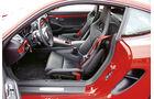 Porsche Cayman S, Cockpit, Fahrersitz