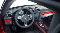 Porsche Cayman S, Cockpit, Lenkrad