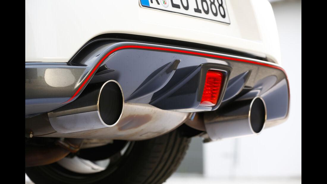 Porsche Cayman S, Endrohr, Auspuff