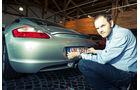 Porsche Cayman S, Heck