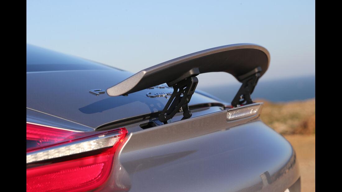Porsche Cayman S, Heckspoiler