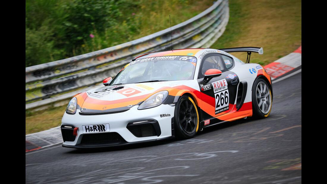 Porsche Cayman S - MSC Münster e.V. DMV - Startnummer #266 - SP4T - VLN 2019 - Langstreckenmeisterschaft - Nürburgring - Nordschleife