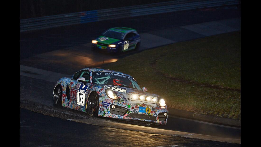 Porsche Cayman S - Mathol Racing - #172 - 24h-Rennen Nürburgring 2014 - Qualifikation 1